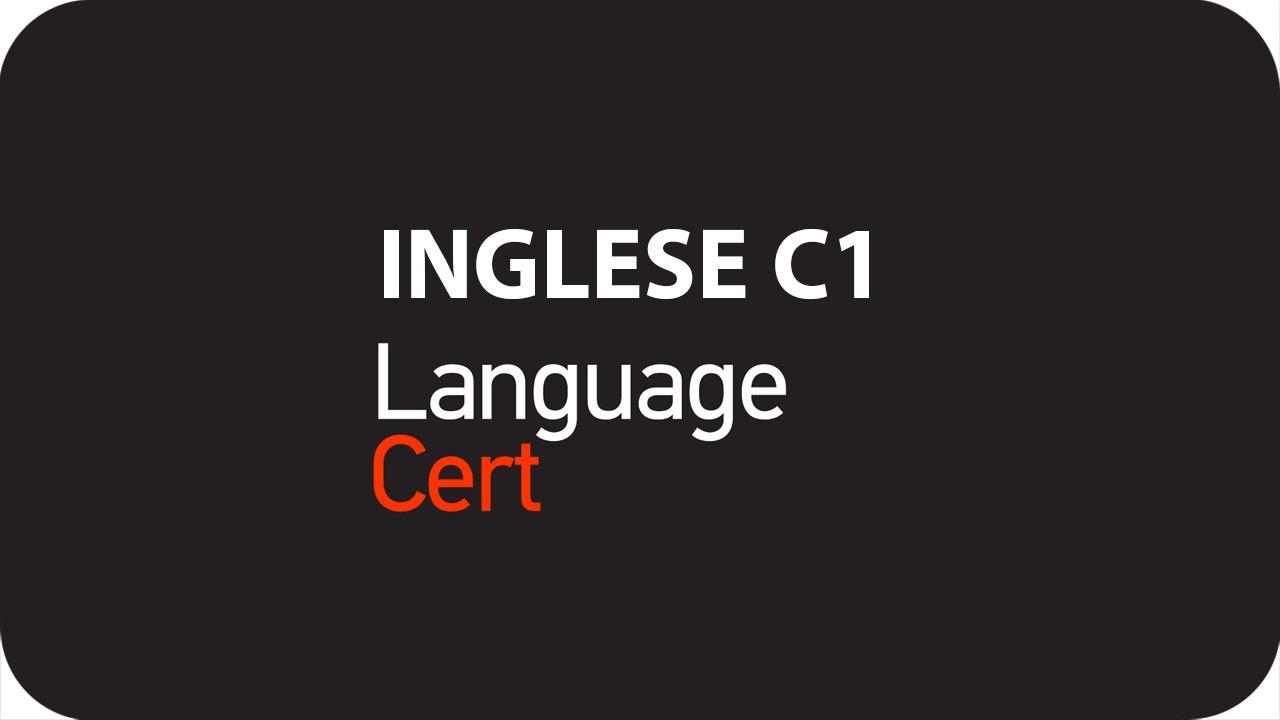 CERTIFICAZIONE LINGUA INGLESE C1