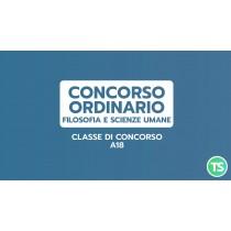 PREPARAZIONE CONCORSO ORDINARIO FILOSOFIA E SCIENZE UMANE