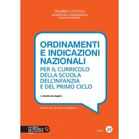 ORDINAMENTI E INDICAZIONI NAZIONALI / Infanzia e primo ciclo